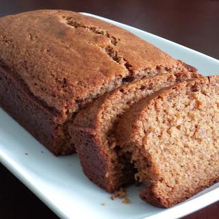 Cinnamon Applesauce Bread.