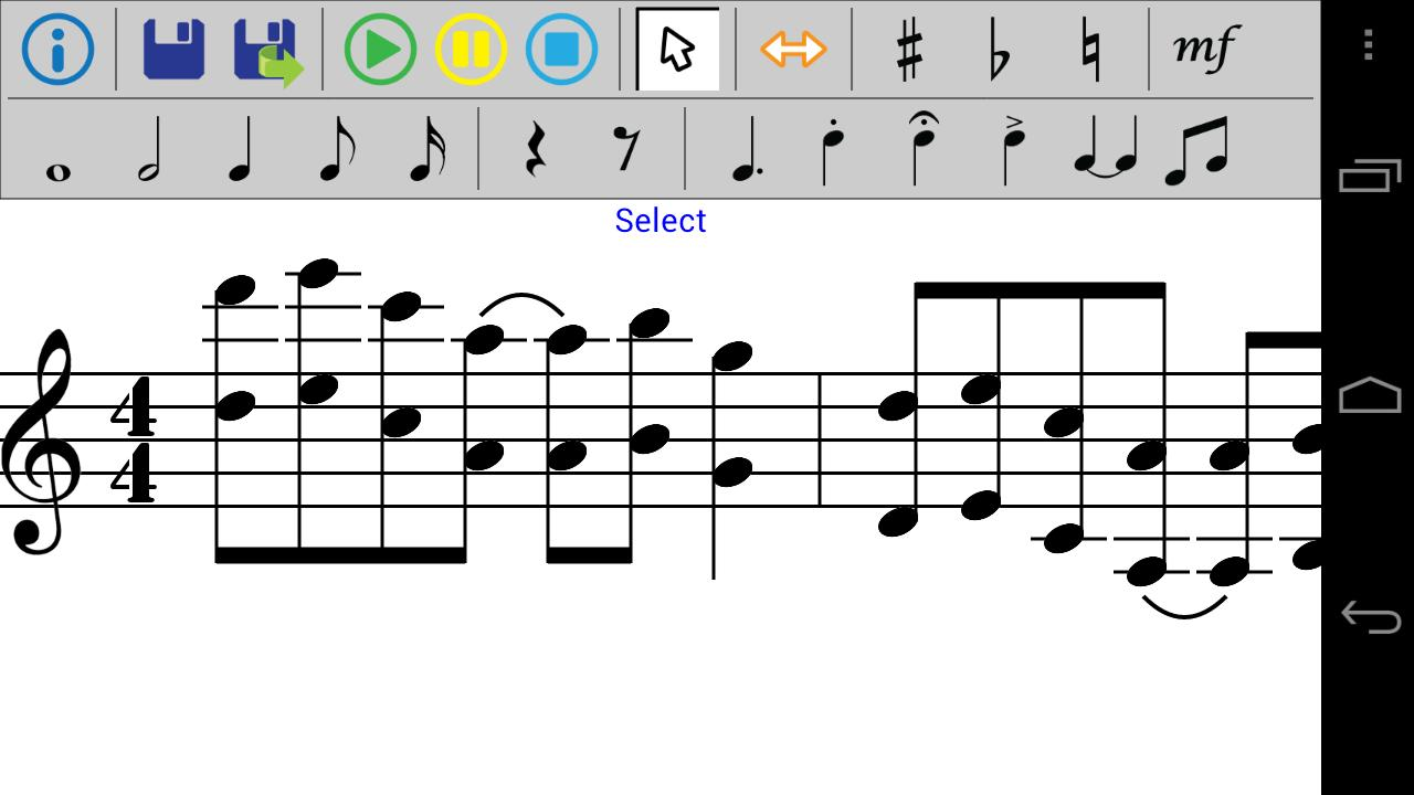 Music Composition- screenshot