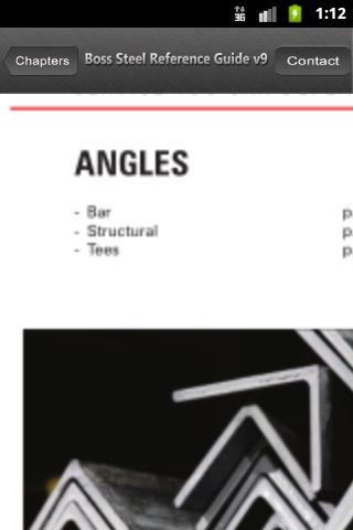 Boss Steel Reference Guide- screenshot