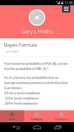 Garys Maths