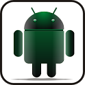 Droid green glow doo-dad icon