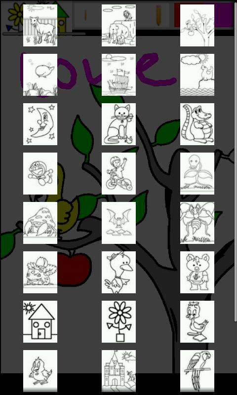 Kid Paint Coloring For Tablet Screenshot