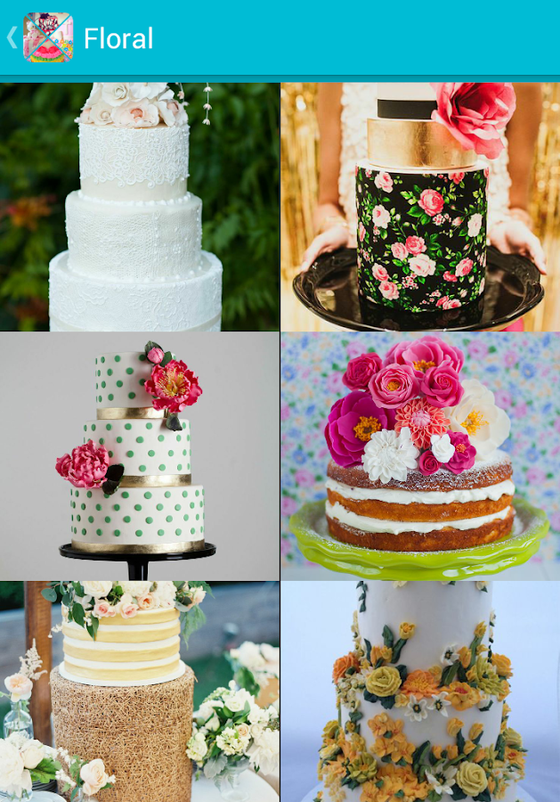 cake art design ideas screenshot