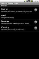 Screenshot of SpeedCam Detector Worldwide