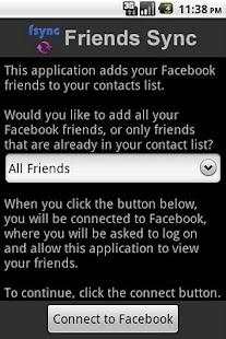 Friends Sync- screenshot thumbnail