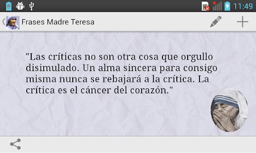 App Frases de la Madre Teresa APK for Windows Phone