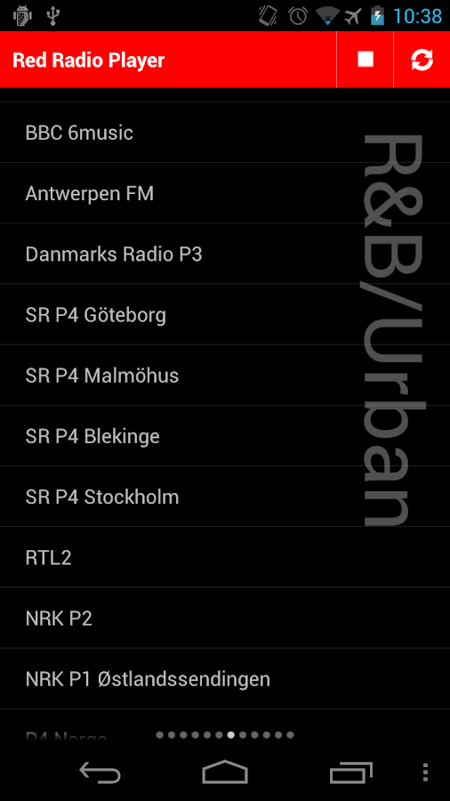 Red Radio Player - screenshot