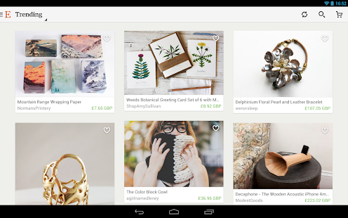 Etsy: Handmade & Vintage Goods - screenshot thumbnail