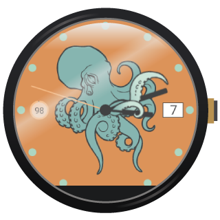 Illustration Watch Faces by VA