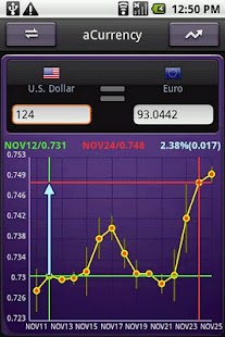 aCurrency Pro (exchange rate)- screenshot thumbnail