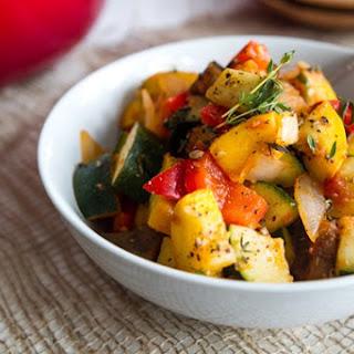 Ratatouille-Inspired Summer Veggie Dish