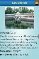 Screenshot of Chennai tour guide
