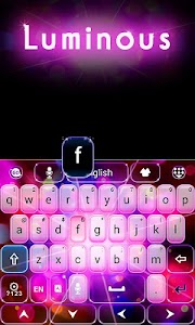 Luminous GO Keyboard Theme v1.65.18.57
