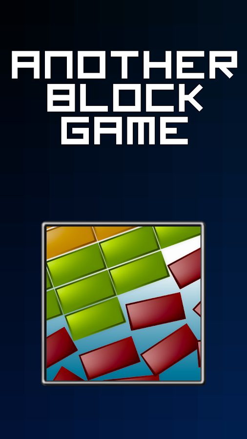 Another Block Game- screenshot