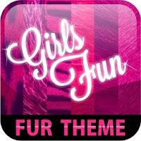 Pink Girl Fur GO Theme 1.8