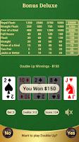 Screenshot of Bonus Deluxe Poker