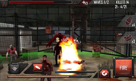 Screenshots of Zombie Roadkill 3D for iPhone