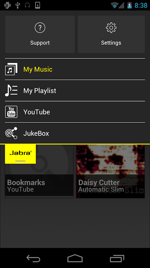 Jabra Sound (ComplementaryApp) - screenshot