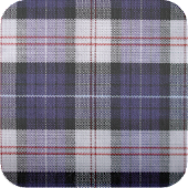 plaid fabric wallpaper50