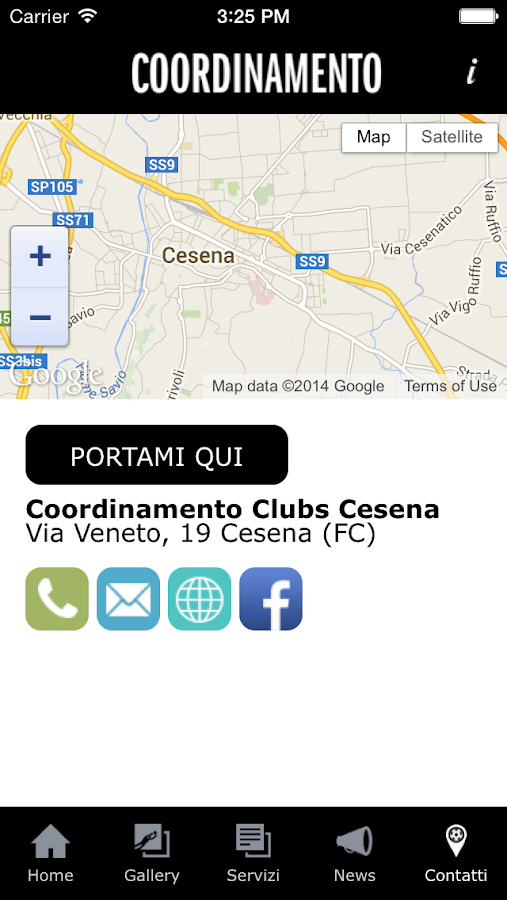 ClubsCesena- screenshot