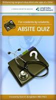 Screenshot of ABSITE quiz