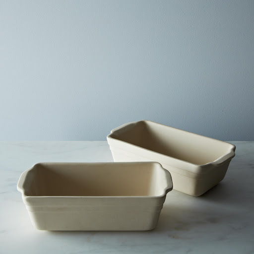 Loaf Pan: Ceramic Unglazed Ohio Stoneware (Set of 2)