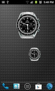 Omega Speedmaster Analog Clock - screenshot thumbnail