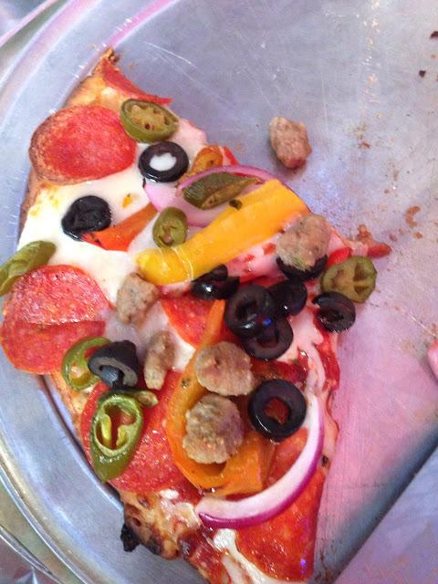 Italian mex GF pizza