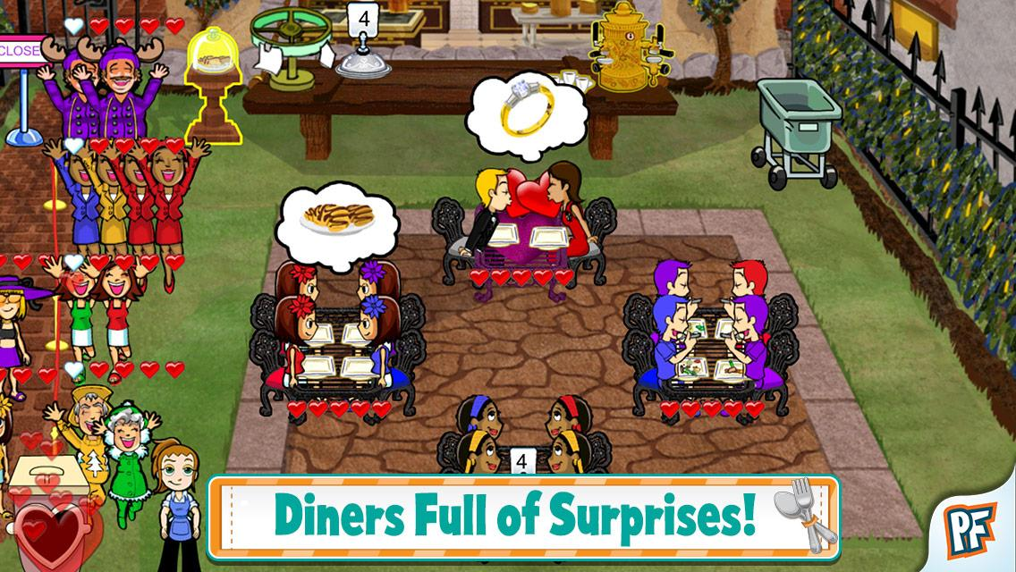 Diner Dash Classic Deluxe - screenshot