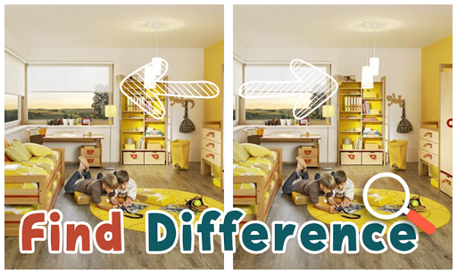 Find Differences : Kid Room