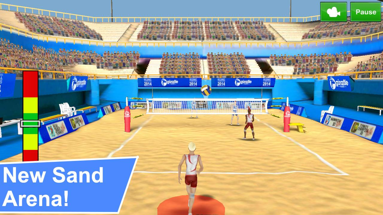 Screenshots of Volleyball Champions 3D for iPhone