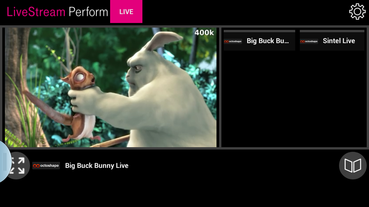 LiveStream Perform Live TV - screenshot