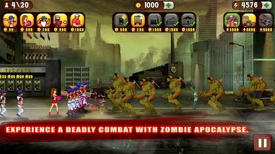 Baseball Vs Zombies- screenshot thumbnail
