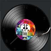 Vinyl watchface for WatchMaker