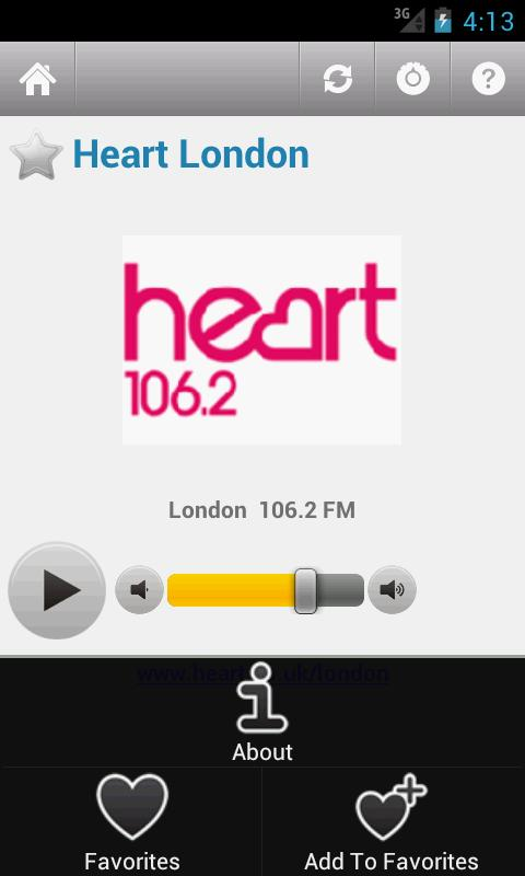 British Radio - screenshot