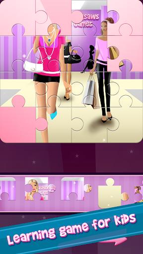 时尚 拼图 游戏的女孩 益智游戏|玩解謎App免費|玩APPs