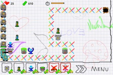 Doodle Defense Lite- screenshot thumbnail