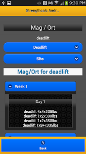 StrengthCalc Juiced Edition - screenshot thumbnail