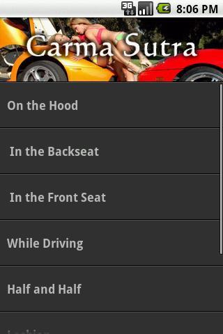 Car Kamasutra Sex Positions - screenshot