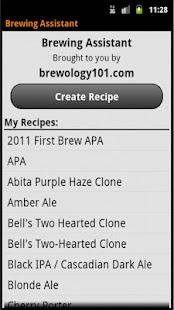 Brewing Assistant Free- screenshot thumbnail