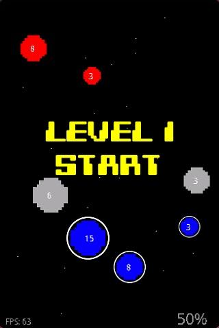 Retro Planet Attack Lite - screenshot