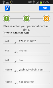 Yabbin - your contact app- screenshot thumbnail