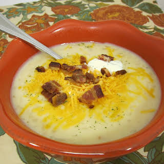 Slow Cooker Potato Soup.