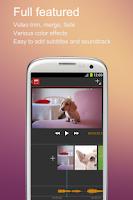 Screenshot of V-Edit (Video Edit)