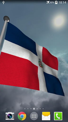 Dominican Republic Flag + LWP