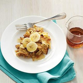 Banana-Maple Matzo Brei