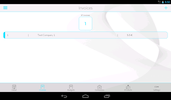 Screenshot of iInvoices: Invoices & Budgets