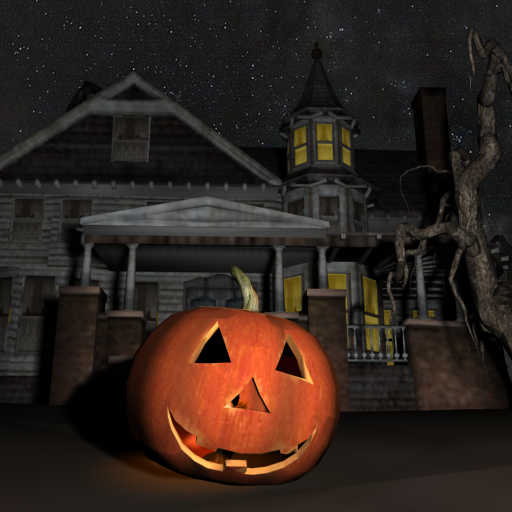 Halloween House 3D Wallpaper LOGO-APP點子