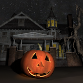Halloween House 3D Wallpaper