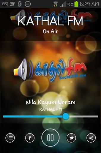 KATHAL FM - Online Tamil Radio